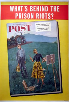 Saturday Evening Post What's Behind The Prison Riots?