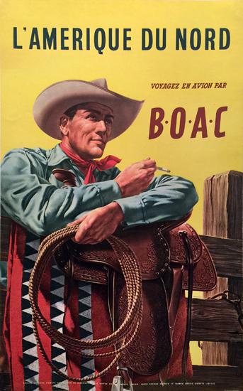 BOAC - L'Amerique du Nord