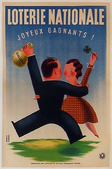 Loterie Nationale - Joyeux Gagnants (Couple)