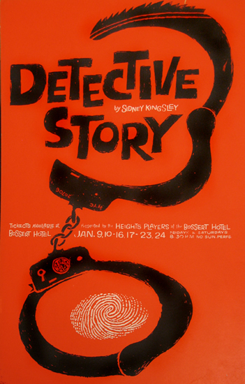 Detective Story  - Sidney Kingsley