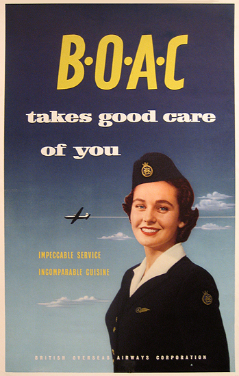 BOAC Takes Good Care of You (Flight Attendant)