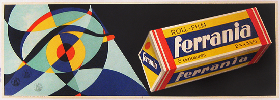 Ferrania Film (Abstract Space Age)