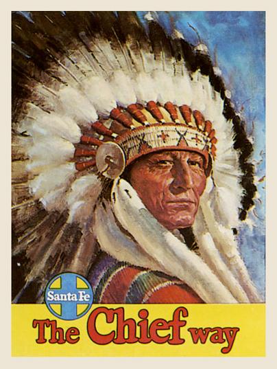 Santa Fe The Chief Way