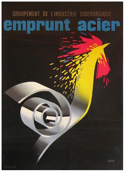 Emprunt Acier (Rooster/Black)