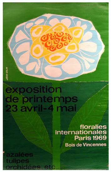 Exposition de Printemps (Blue Medium Size)
