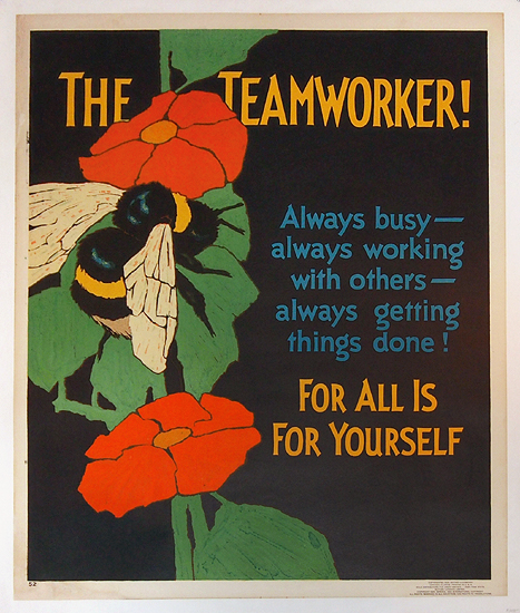 Mather Work Incentive The Teamworker (Bee)