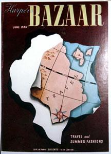 Harper's Bazaar Cover - Map