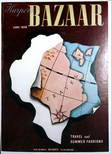 Harper's Bazaar Cover - Map