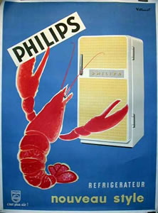 Philips - Refigerators (Lobster)