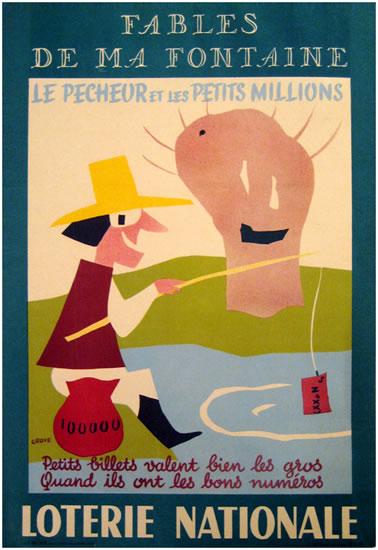 Loterie Nationale Fables De Ma Fontaine