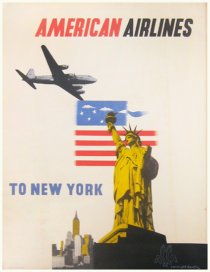 American Airlines New York Photo Montage