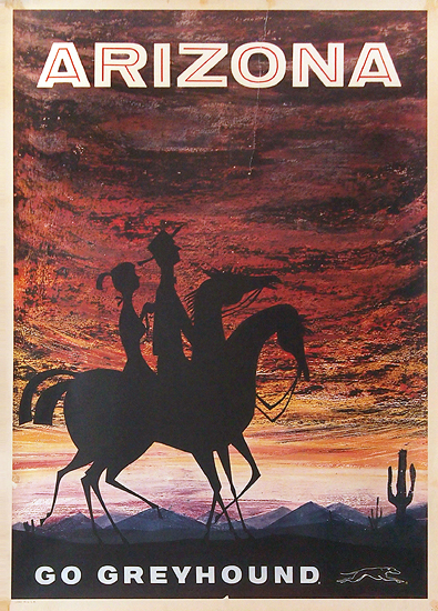 Go Greyhound  Arizona (Sunset)