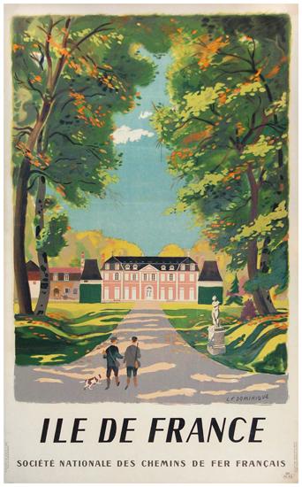 SNCF - Ile De France (Chateau and Hunters)
