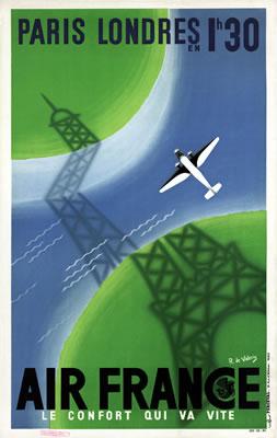 Air France - Paris - Londres