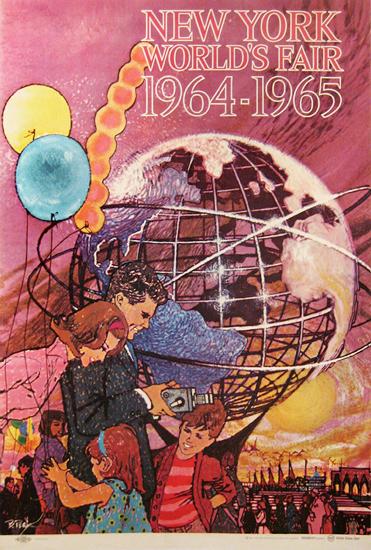 New York World's Fair 1964-1965 (Pink)