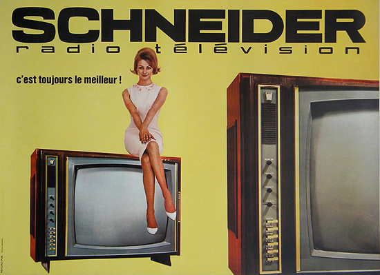 Schneider TV (Yellow Horizontal)