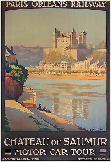 Paris Orleans Railway Chateau of Saumur Motor Car Tour