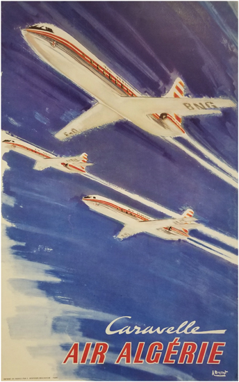 Air Algerie Caravelle