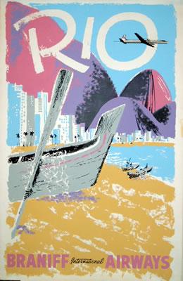 Rio - Braniff International Airways