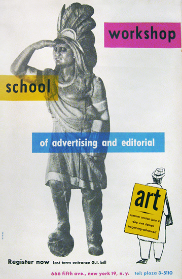 Workshop School of Advertising and Editorial Art (Indian)