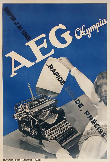 Olympia AEG (Blue)