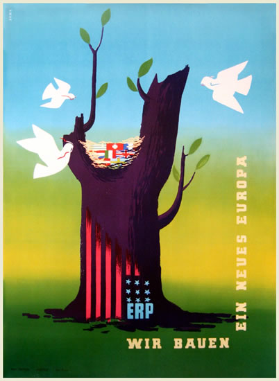 ERP Marshall Plane (Doves and Tree Trunk)