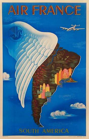 Air France - South America (Wing)