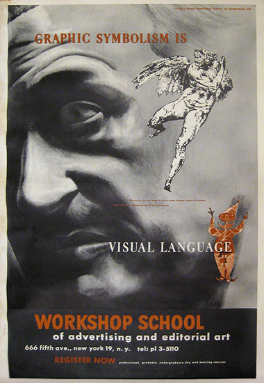 Workshop School - Graphic Symbolism is Visual Language (Face)