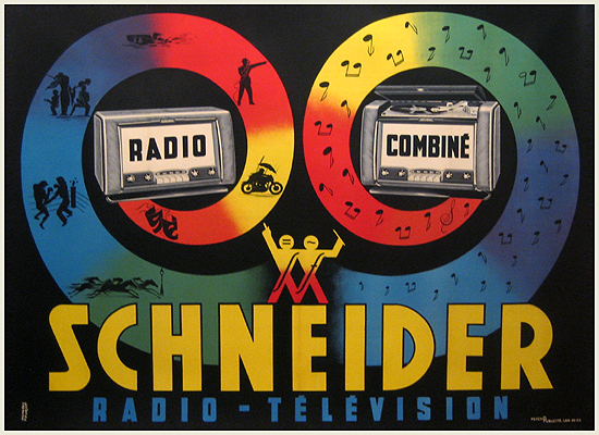 Schneider Radio Combine (Colorful Horizontal)