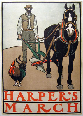 Harper's - March (Framer, Plow and Horse)