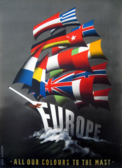 Europe - All Our Colours to the Mast