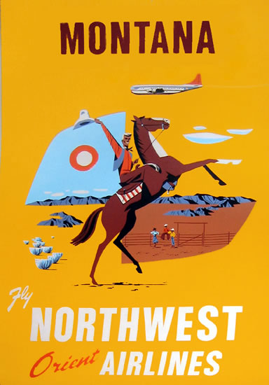 Montana - Northwest Orient Airlines