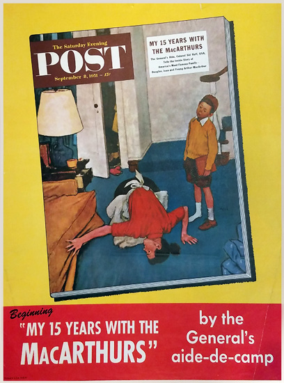 Saturday Evening Post - My 15 Years with the MacCarthurs