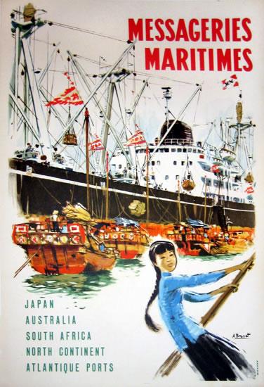 Messageries Maritime - Japan