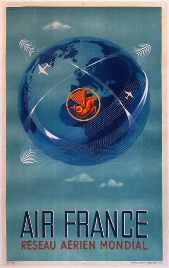Air France - Mondial (Larger Size)