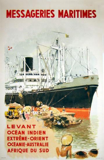 Messageries Maritimes Levant