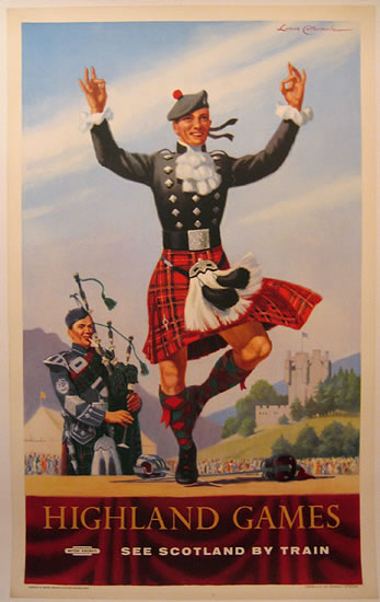 Highland Games - British Railways