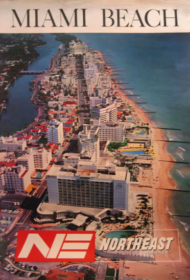 Miami Beach - Northeast Airlines