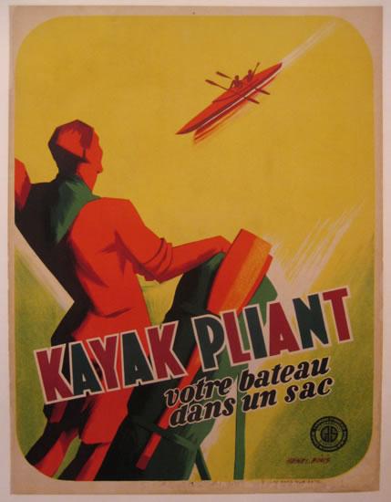 Kayak Pliant