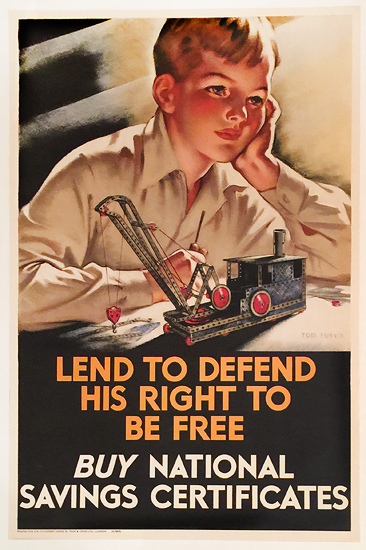 Lend to Defend His Right to be Free