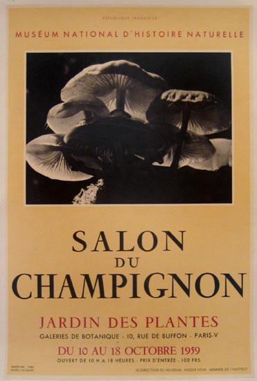 Salon du Champignon - Museum Nation d'Histoire Naturell