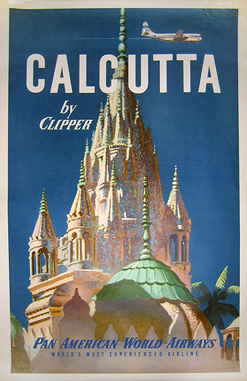 Pan Am - Calcutta