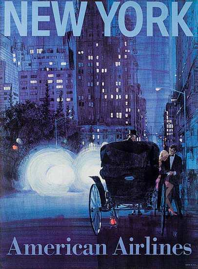 American Airlines - New York (Central Park Carriage)