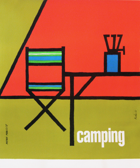 Camping (Chair and Tent)