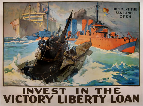 Invest in the Victory Liberty Loan