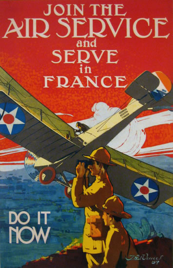 Join the Air Service - Serve in France