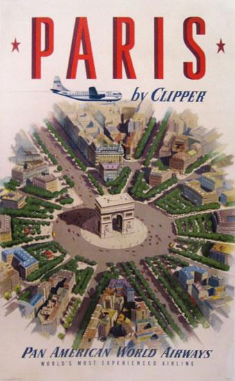 Pan Am Paris by Clipper