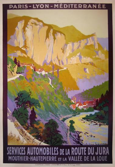 PLM - Route du Jura - Vallee de la Loue