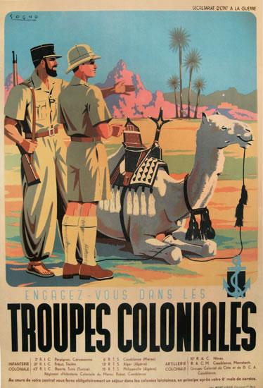 Troupe Coloniales - Engagez Vous Das Le Troupes