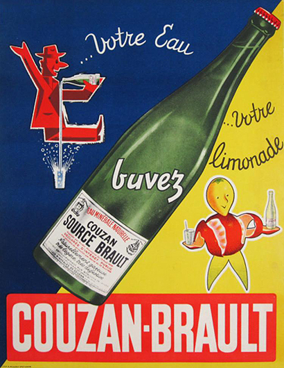 Couzan Brault (Diagonal Bottle)